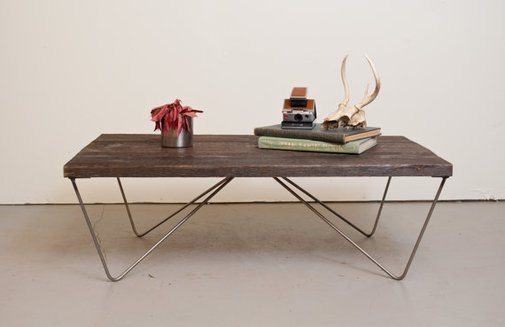 Coffee Table Reclaimed Wood Salvaged