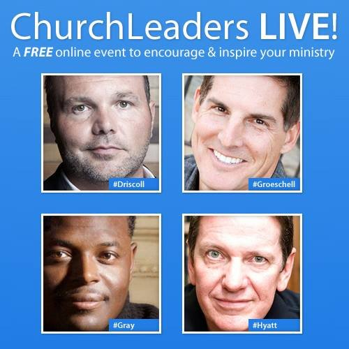A FREE online event for church leaders