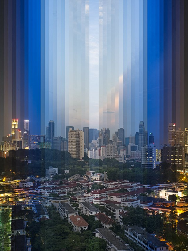 Photographic Collages Capture The Passage Of Time In A Single Image