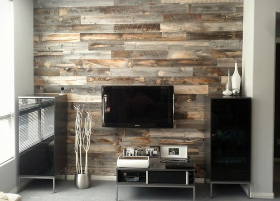 Peel and Stick Wood Wall Decor & Backsplash | Cool Material