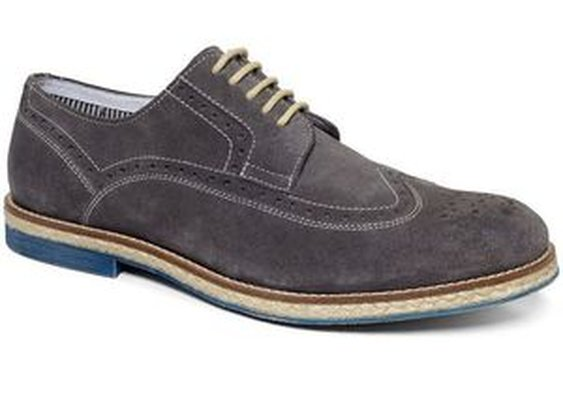 Grow-Ceeds Wing-Tip Lace-Up Shoes
