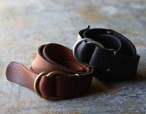 Handsewn O-Ring Belt