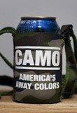 CAMO: America's Away Colors Neck Tie Koozie | Rowdy Gentleman