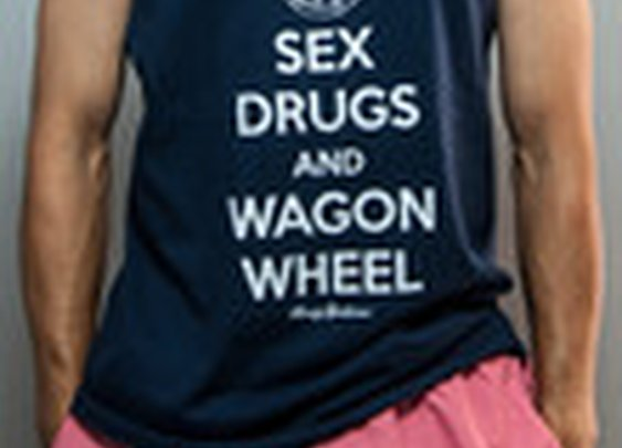 Sex, Drugs and Wagon Wheel Tank Top | Rowdy Gentleman