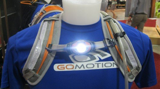 GoMotion Synergy Hydration Lightvest combines LED lighting and hydration
