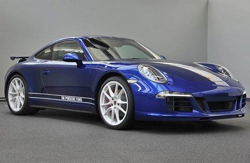 Porsche 911 Carrera 4S Designed by Facebook Fans