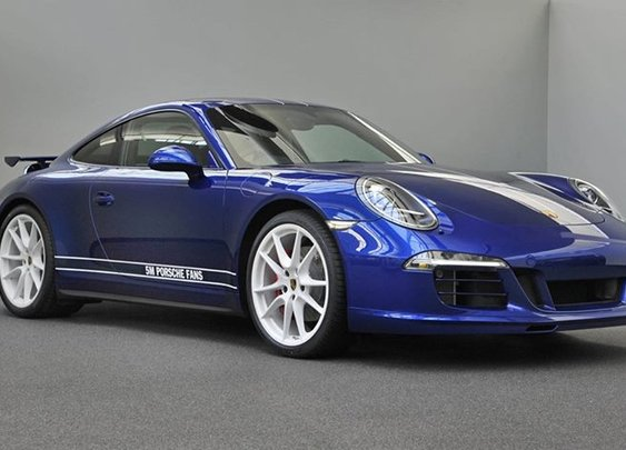 Porsche 911 Carrera 4S Designed by Facebook Fans