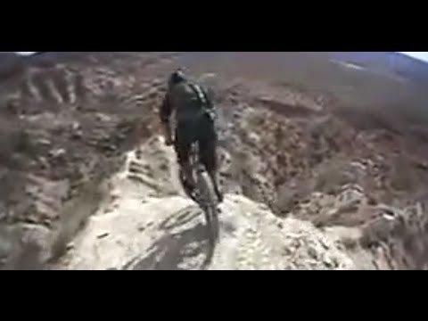 Downhill Mountain Biking in Virgin / Utah