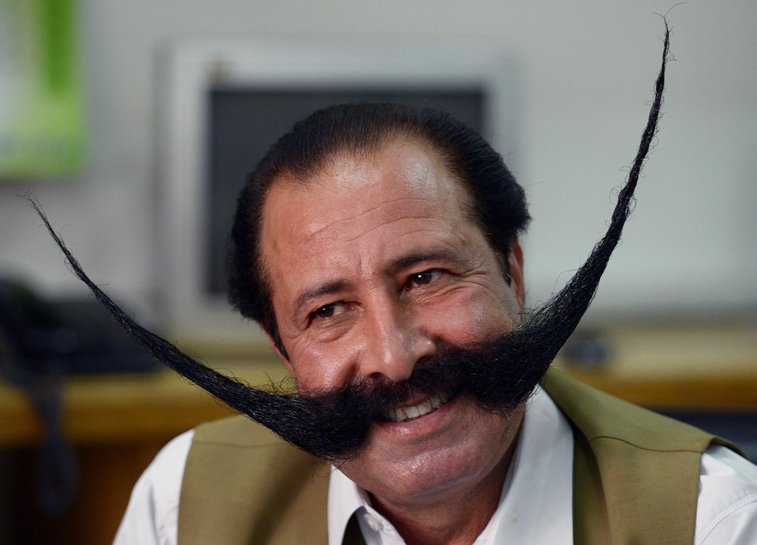 Malik Amir Mohammad Khan, Pakistani Man, Threatened By Taliban Over Massive Moustache