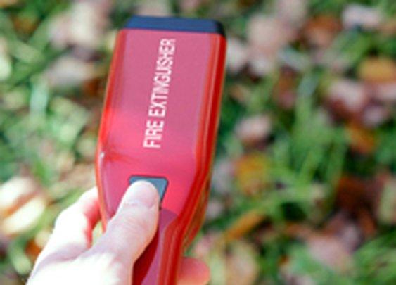 Portable & Refillable Fire Extinguisher Concept
