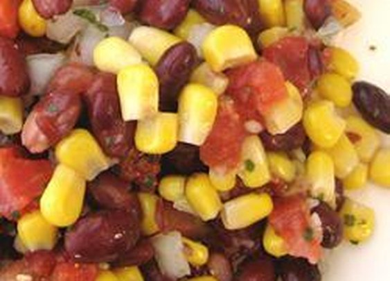 Quick Black Bean and Corn Salsa