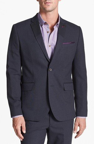 Multi Fabric Blazer