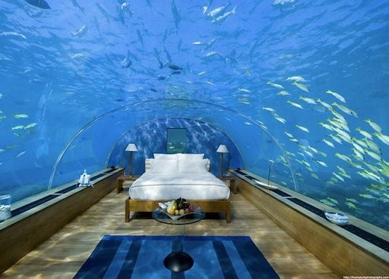Undrewater bedroom