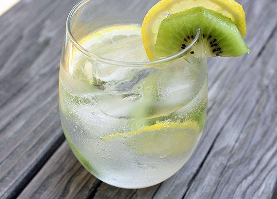 Kiwi-Citrus White Sangria