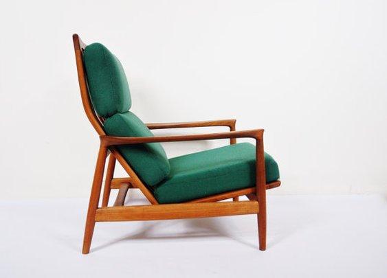 Folke Ohlsson for Dux Swedish Teak Armchair by thewhitepepper