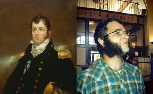 Oliver Hazard Perry Sideburns Contest