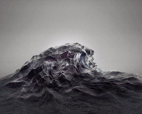 Étude Op. 2 No. 4 [HIGH TIDE] by Sougwen Chung | The Ghostly Store
