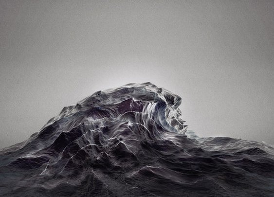 Étude Op. 2 No. 4 [HIGH TIDE] by Sougwen Chung   The Ghostly Store