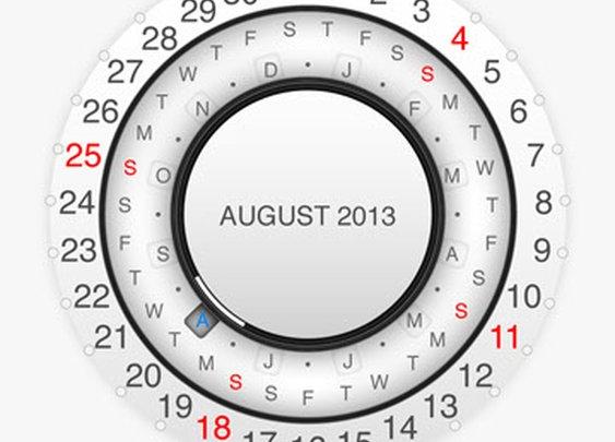 Wall calendar 2013