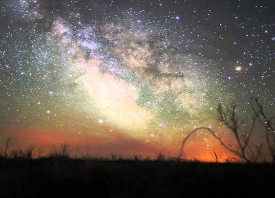 Plains Milky Way - YouTube