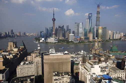 Shanghai's Insane, 26-Year Transformation Summed Up In Two Photos