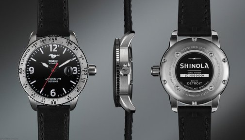 Mustang 50th Anniversary Shinola Watch | The Coolector