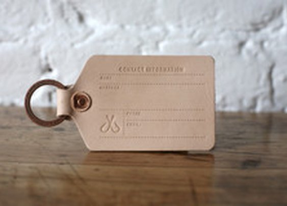 Luggage Tag | Corter Leather & Cloth