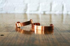 Handmade Copper Cuff | Corter Leather & Cloth