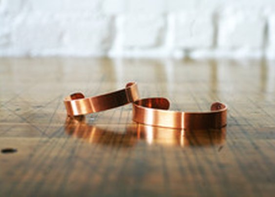 Handmade Copper Cuff | Corter Leather & Cloth