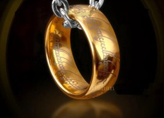 Lord of the Rings - Tungsten One Ring