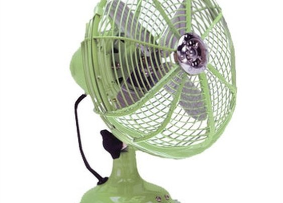 Ecco Pistachio Desk Fan | Wayfair