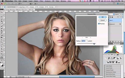 High Pass Skin Softening Tutorial - YouTube