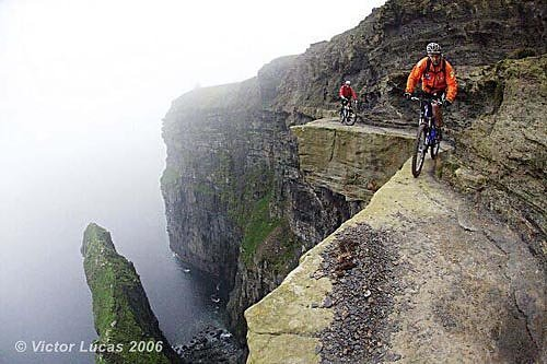 The Most Terrifying Mountain Bike Trail On Earth