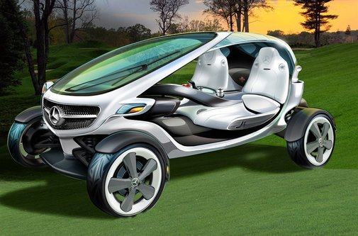 Mercedes-Benz Presents its Vision for the Golf Cart of the Future