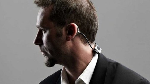 Headphones without speakers? Sound Band makes it a reality