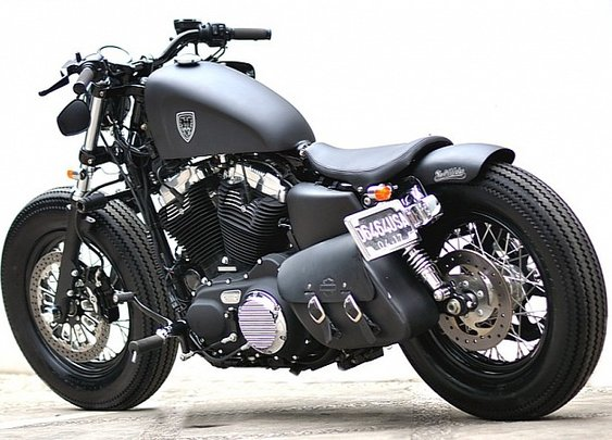 Studio Motor Harley-Davidson Sportster Forty-Eight - Photo #2