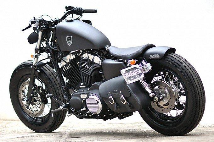 Studio Motor Harley-Davidson Sportster Forty-Eight - Photo #2