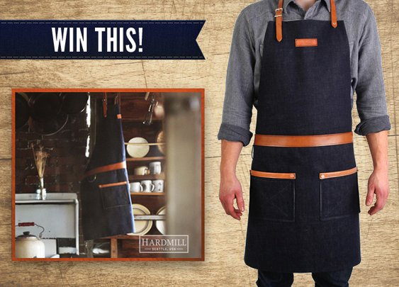 Gifts for Men - Hardmill Apron Sweepstakes