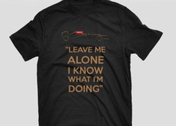 "Kimi Raikkonen ""Leave Me Alone"" T-Shirt"
