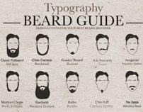 Typography Beard Guide on Behance