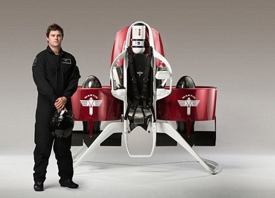 Cleared for take-off: TV sci-fi fan who built 'world's first practical jetpack' is granted permission to carry out manned test flights  | Mail Online