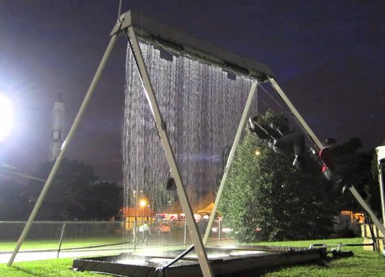 Waterfall Swing - World Maker Faire