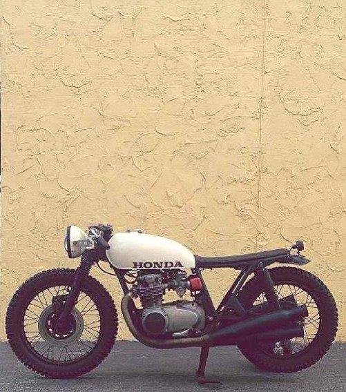 Honda cafe