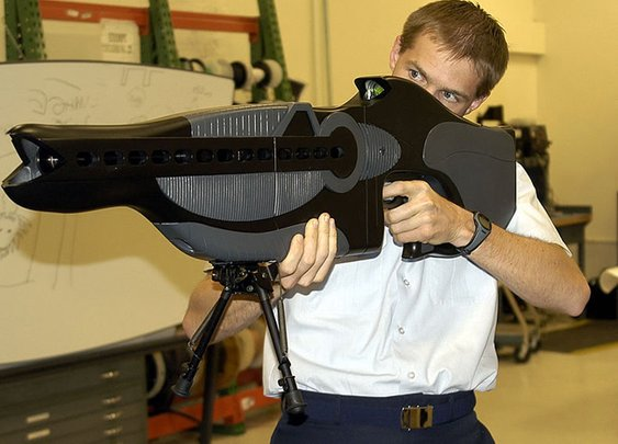 10 Incredible Real-Life Laser Weapons