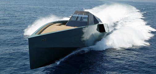 YACHT OF THE WEEK: The $33 Million Wally 118 Is Darth Vader's Home On The Water - Business Insider