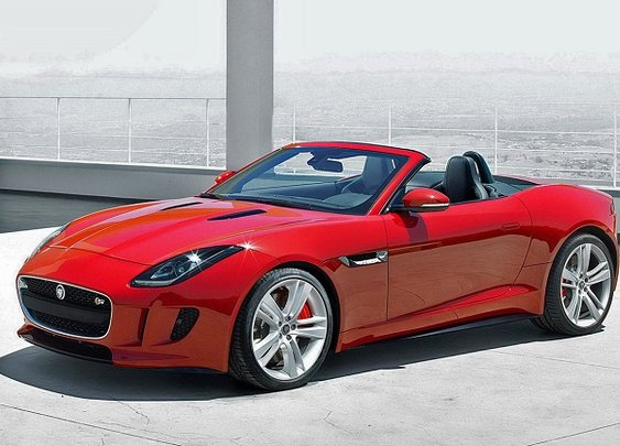 Celebrate modern Britain with Jaguar F Type