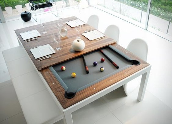 Men's Gear: FUSION POOL TABLES | Awesome Tech Gadgets Men Want | Coolest Gift Ideas For Guys