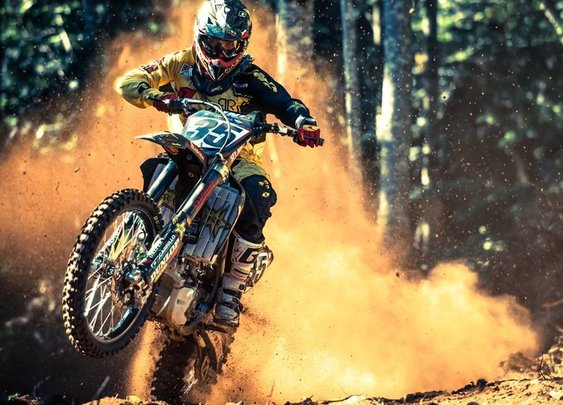 Motocross and heavy metal