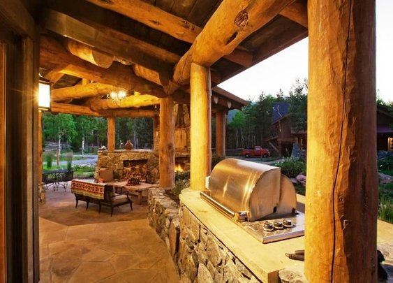 Various Outdoor Kitchens Design Ideas for summer season