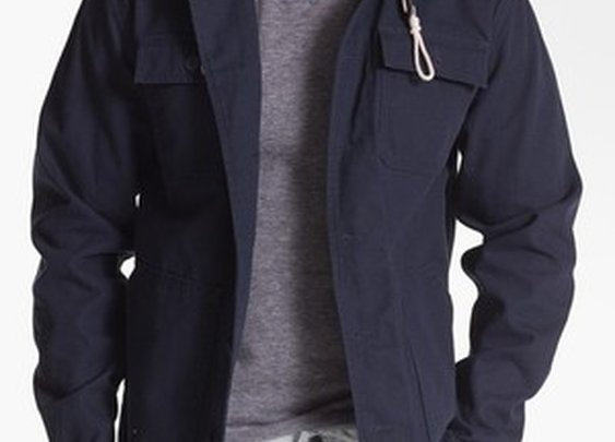 Lismore Hooded Cotton Canvas Jacket
